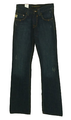 bfe5f45ebac CINCH MEN'S CARTER Relaxed Fit Boot Cut Dark Wash Jeans Size 28x38 ...