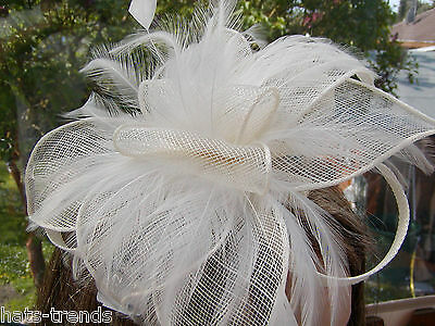 Fascinator Head Jewelry Elegant Wedding Special Occasion Hat Ascot Ball Choice