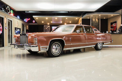 1977 Lincoln Continental  15k Miles, Window Sticker, 460CI, Automatic, PS, PB, A/C, 4 Door, 1 Owner