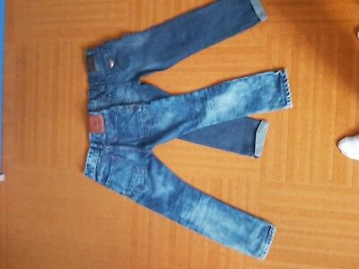 Jeans bambino Armani Junior e scotch Shrunk originali, con elast. pari al nuovo.
