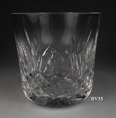 "WATERFORD CRYSTAL LISMORE OLD FASHIONED GLASS 3 3/8"" - 9 oz TUMBLERS - EXCELLENT"