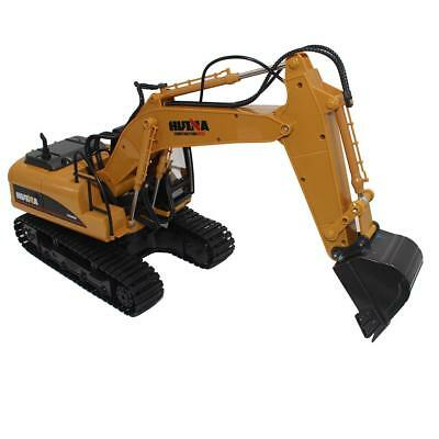 RC Truck Remote Control Excavator Crawler Tractor 15 Channel 2.4G 1:14 Model Toy