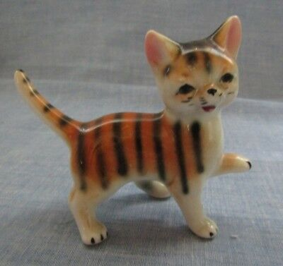 Porcelain Miniature Tabby Tiger Cat Kitten