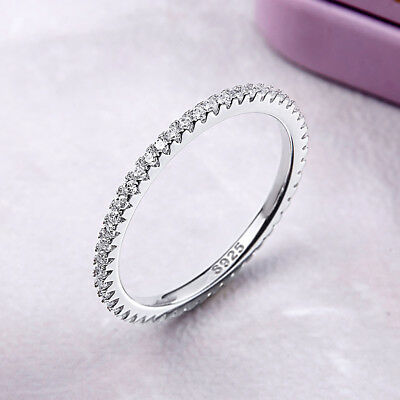 925 Sterling Silver Europe Fashion Nice luxury Ring Charm Beauty Women Jewelry