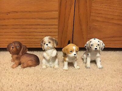 4 Piece Dog/Puppy Collectables