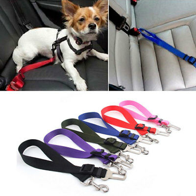 Pet Dog Safe Car Vehicle Seat Belt Harness Lead Pet Seat belt Nylon Adjustable