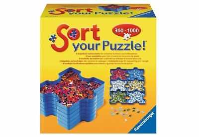 560940 Ravensburger 6 Sortierschalen, »Sort your Puzzle« NEU