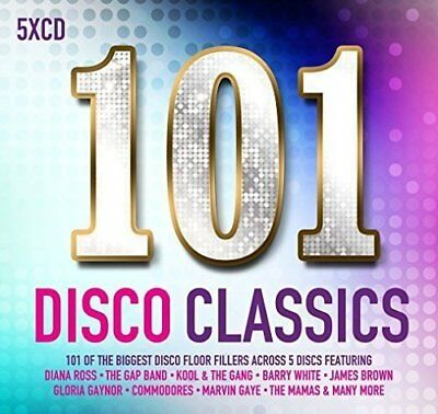 101 Disco Classics     [5 x CD]    New!!  Seventies Eighties