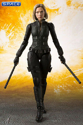 Black Widow with Tamashii Effect S.H. Figuarts Avengers: Infinity War Bandai