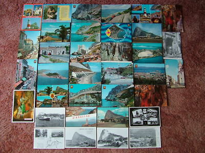 35 Unused Postcards of GIBRALTAR. Modern & Standard size. Very good condition.