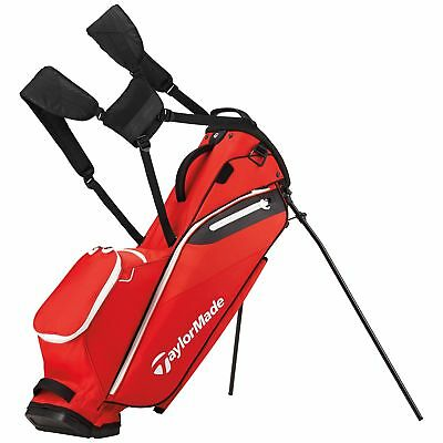 New TaylorMade Golf- 2017 Flextech Lite Stand Bag Red