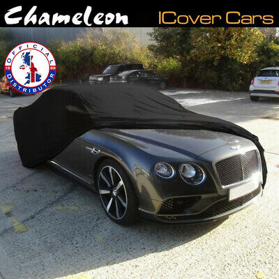 Indoor Car Cover BLACK SMALL Super Soft breathable fabric Premium 160gsm