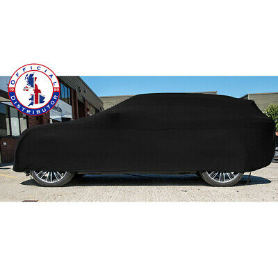 DELUXE Indoor Car Cover BLACK SMALL Super Soft breathable 130gsm fabric