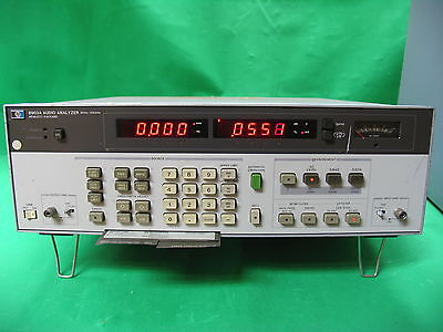 HP AGILENT KEYSIGHT 8903A AUDIO ANALYZER 20Hz - 100kHz