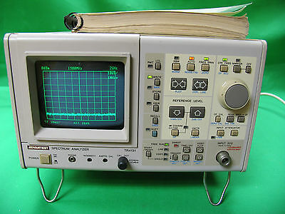 ADVANTEST TR4131 SPECTRUM ANALYZER 10kHz - 3.5GHz