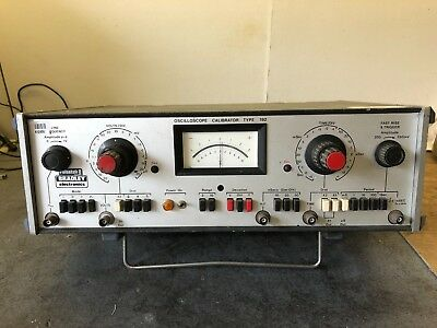 Bradley 192 oscilloscope calibrator scope