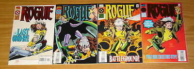 Rogue #1-4 VF/NM complete series - mike wieringo - x-men spin-off set lot 2 3