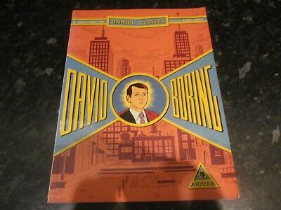 daniel clowers david boring Paperback graphic novel