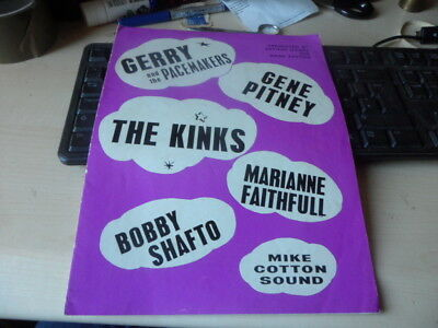 POP MUSIC PROGRAMME-THE KINKS,GERRY &THE PACEMAKERS,GENE PITNEY,ETC-1960s