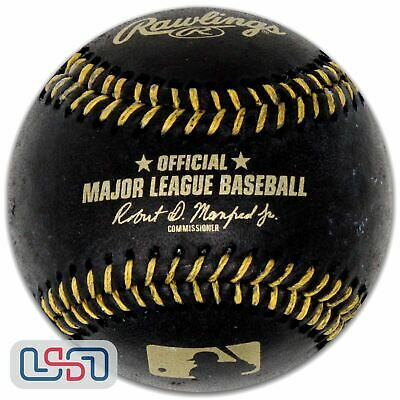 Rawlings Black Official Major League Game MLB Baseball Manfred - Boxed
