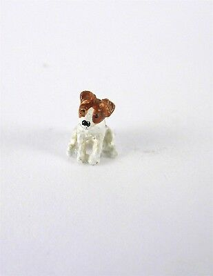 Dollhouse Miniature Quarter Scale 1:48 Jack Russell Dog, A4714