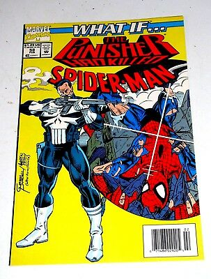 What If #58  The Punisher Killed Spider-Man ??