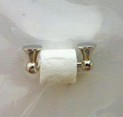 Dollhouse Miniature Toilet Paper Holder, 1:12 Scale, S3804N
