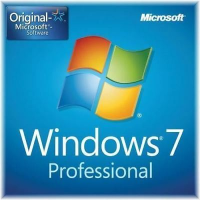 Microsoft Windows 7 PRO Professional ✓Lifetime Activation Key ✓INSTANT DELIVERY