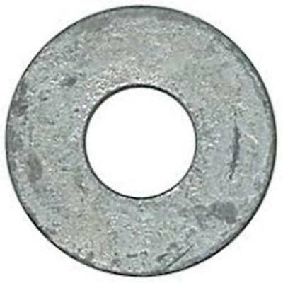"3/8"" -  Hot Dipped Galvanized Flat Washers (100)"