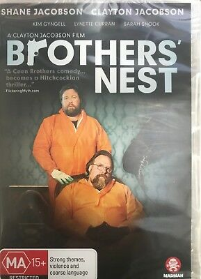 Brothers Nest DVD, Shane & Clayton Jacobson. New sealed
