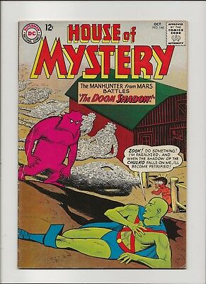 "House of Mystery 146 VG/F 5.0 Martian Manhunter Jonn' Jonz"" John Jones Zook 1964"