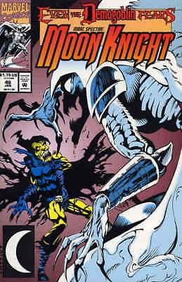 Marc Spector: Moon Knight #46 FN; Marvel | save on shipping - details inside