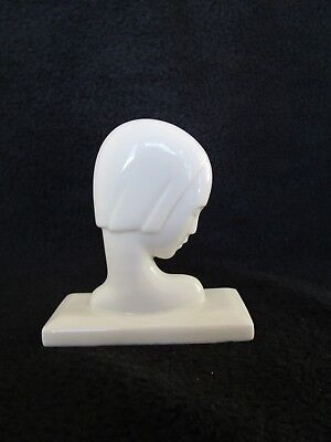 Vintage Lenox China, Art Deco Bust of a Woman - 1930 to early 1950's