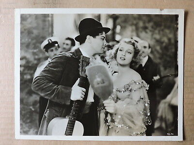 Ramon Novarro with Jeanette MacDonald original photo 1934 The Cat and the Fiddle
