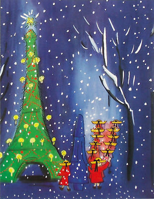 Box of 20 MADELINE CHRISTMAS CARDS Children's Book Character MMA Paris