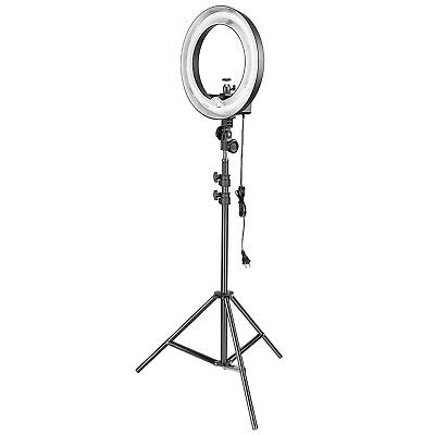 Neewer 14-inch Dimmable Camera Fluorescent Ring Light & Light Stand Lighting Kit