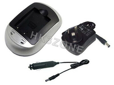 Battery charger for FUJIFILM FinePix HS35EXR FinePix HS50EXR X-A1 NP-W126