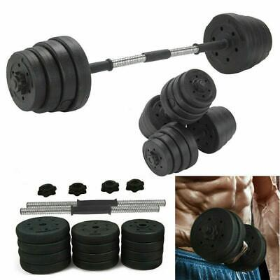 2X Weights Dumbbell Set Gym Fitness Biceps Exercise Training 30KG Dumbells