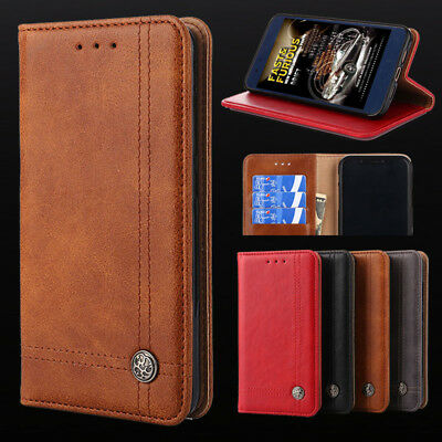 Luxury Flip Wallet Phone Leather Case Cover For Alcatel 3V 3X 3C 1X 1C 5 A3 Plus