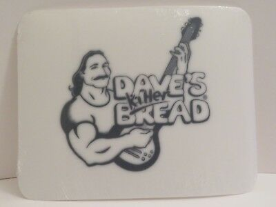 Daves Killer Bread Placemats Organic Bread Plastic Place Mat Set of 3 NEW Dave's