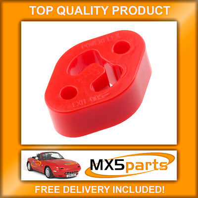 POWERFLEX Universal Exhaust Mount EXH005 71 x 50mm Mazda Ford Citroen Peugeot