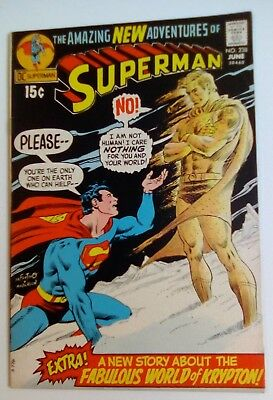 Superman No. 238 Dated June 1971. Very Good Condition. Gray Morrow Art.