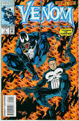 Venom: Funeral Pyre # 1 (of 3) (Tom Lyle) (guest: Punisher) (USA, 1993)