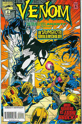 Venom: Separation Anxiety # 2 (of 4) (USA, 1995)