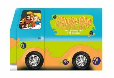 Scooby-Doo, Where Are You! The Complete Series (DVD 2012, 8-Disc Set new) Sealed