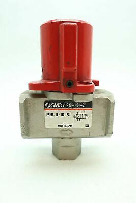 Smc VHS40-N04-Z Hand Lock Out Valve 1/2in 150psi Other