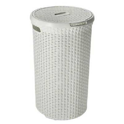 Curver wasbox Style rond wit 48 Liter