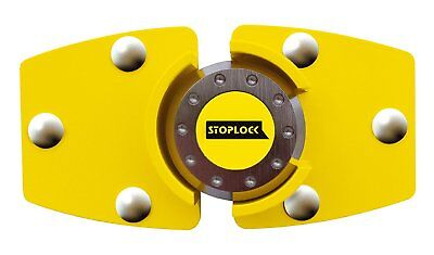 NEW Stoplock HG 199-00 Steering Wheel Van Lock Security Anti Theft - Yellow