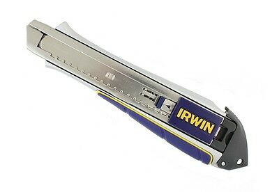 IRWIN 10504554 Pro Touch Retractable Snap Off Knife Handle 18mm NO BLADE