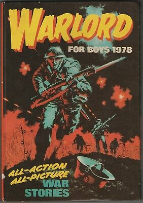 Warlord For Boys 1978 Annual